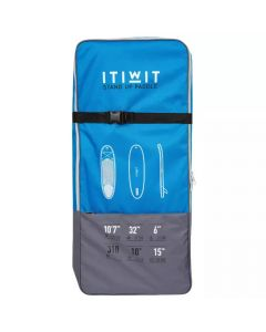 Refurbished Itiwit Backpack for Carrying Paddleboard Allround Tribord