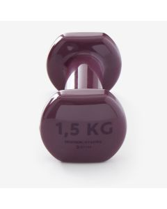 Refurbished Nymba Fitness 1.5Kg Dumbbells Twin Pack - Burgundy