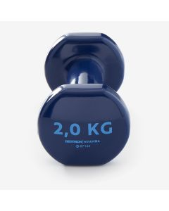 Refurbished Nymba Fitness 2Kg Dumbbells Twin-Pack - Blue
