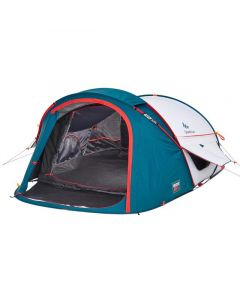 Refurbished Camping Tent - 2 Seconds XL Fresh & Black - 2 Person