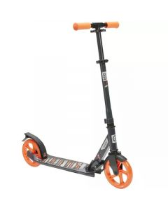 Refurbished Oxelo Scooter Mid 7 with Stand - Blue/Navy/Orange
