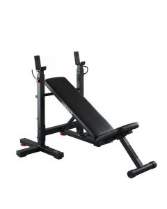 REFURBISHED DOMYOS COLLAPSIBLE BENCH PRESS INCLINE BENCH