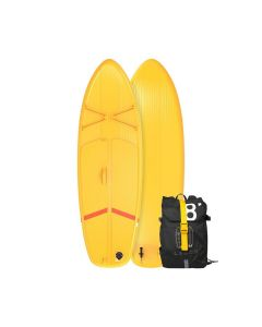 REFURBISHED BEGINNER'S INFLATABLE TOURING STAND-UP PADDLEBOARD 8 FEET